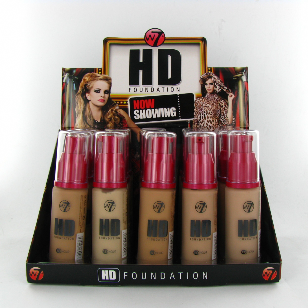 W7 HD Foundation Assorted